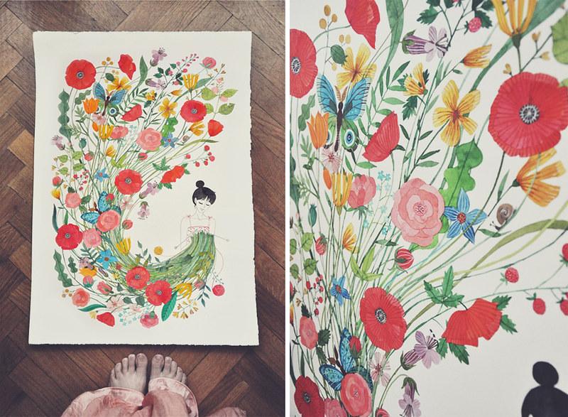 sew me flowers