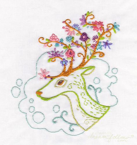 flowering antlers