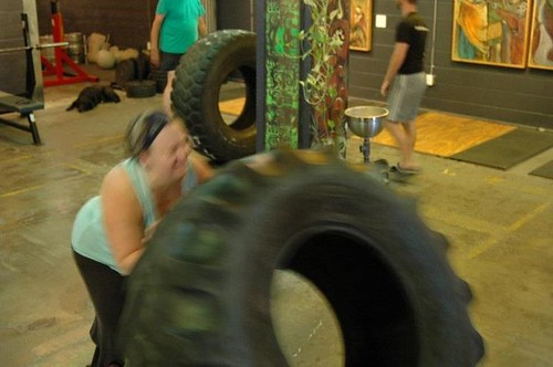 Saturdays at Body Tribe: Me vs. Tire