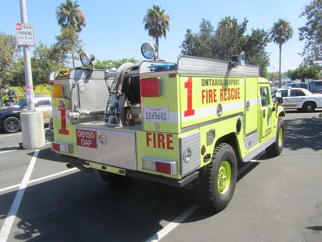Hummer Fire