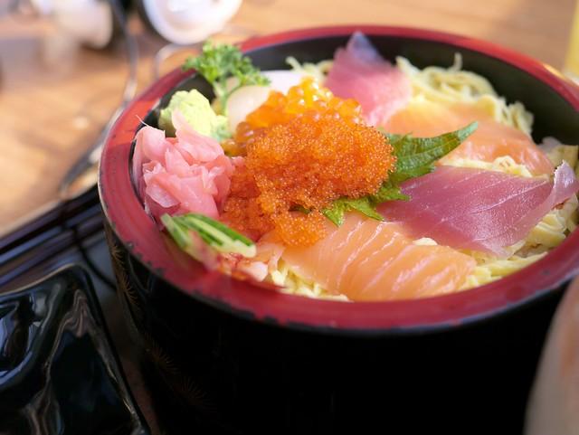 Chirashi Sushi @ waraku - japan casual dining