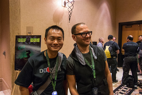 Me and Cory Doctorow at DEFCON 20