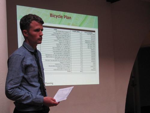 LA Bike Plan EIR scoping meeting in July of 2012