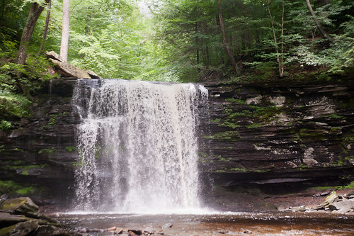 087 waterfall ricketts glen july 2012
