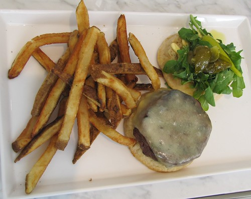The Burger with Sea Salt Fries