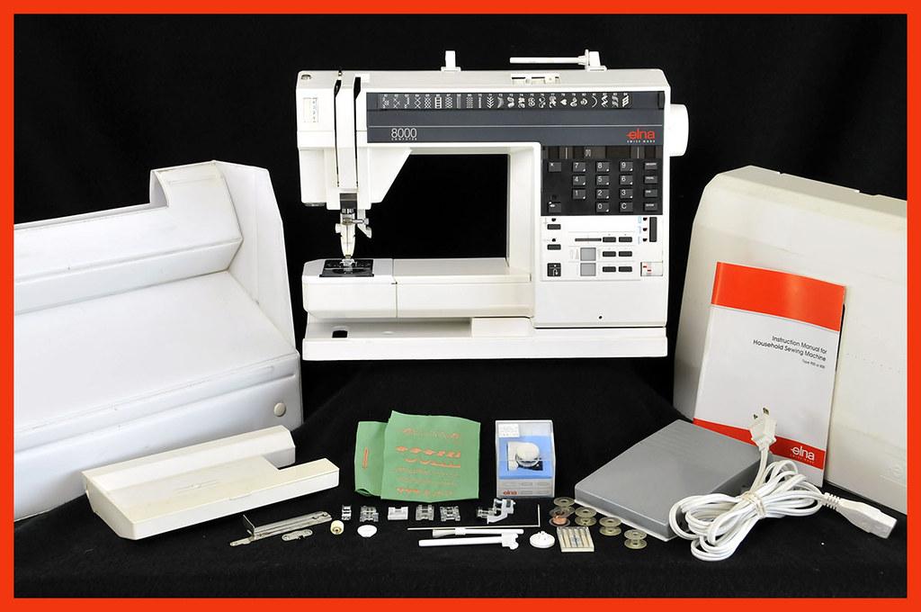 elna computerized sewing machine