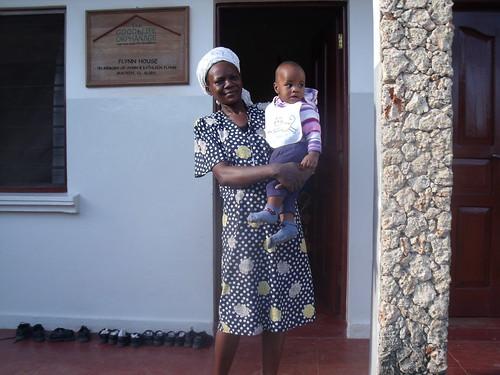 Auntie Christine & Baby Daniel