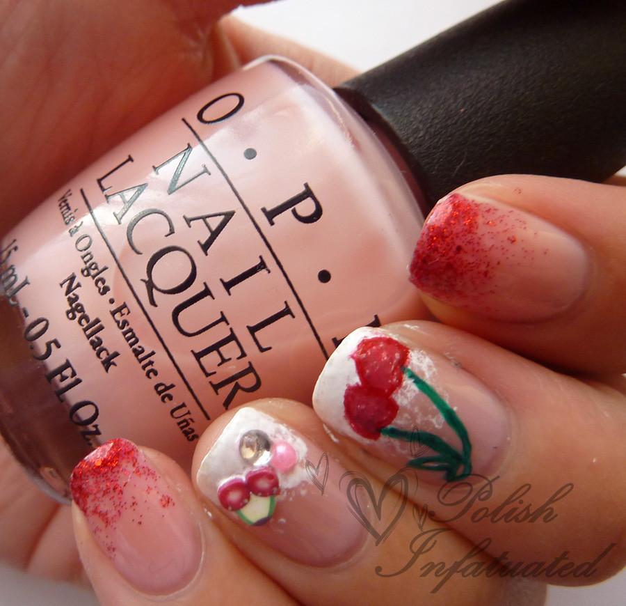 cherry nail art3