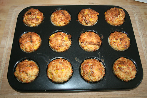 23 - Pizza-Muffins - Fertig gebacken
