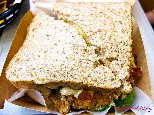 Chicken Caesar Sandwicheese Php160