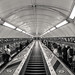 London underground escalators
