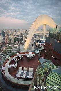 Bangkok - Red Sky Bar