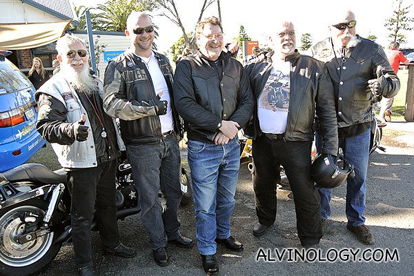 The Harley riders