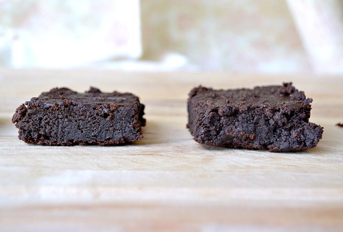 extra fudgy brownies made with avocados