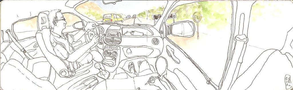 conducción en Creta