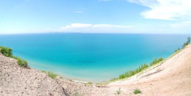 Michigan >> Pyramid Point Panorama | Flickr - Photo Sharing!