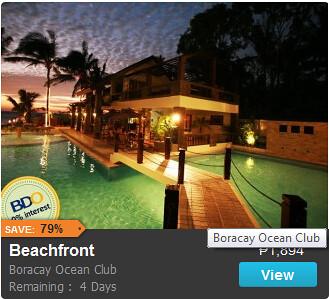 Overnight Stay at Boracay Ocean Club Promo