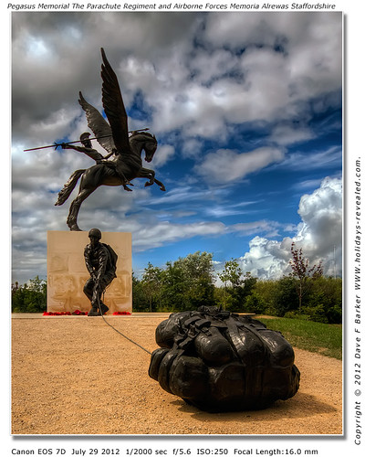 Pegasus Memorial National Memorial Arboretum Alrewas Litchfield Staffordshire by Just Daves Photos