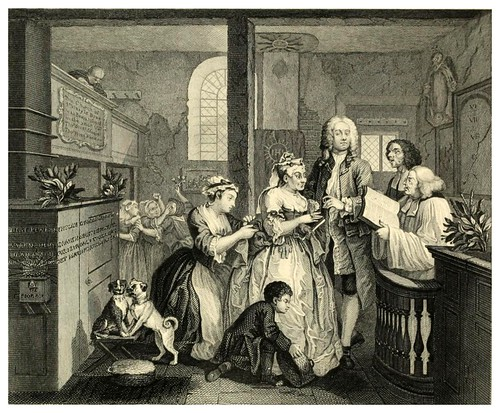 005-La vida de un libertino- The complete works of William Hogarth..1800