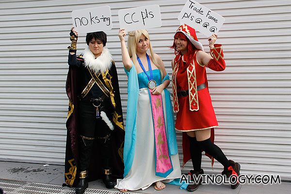 Cosplayers' inside jokes?