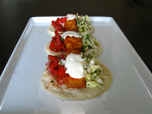 two-bite baja fish tacos