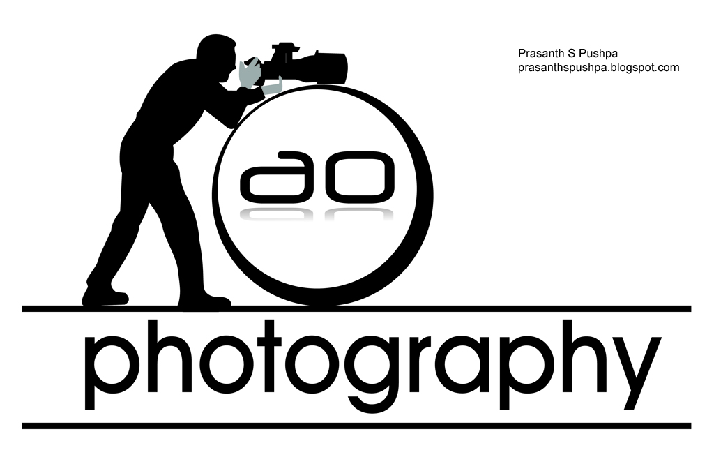 Photography Logo Design Ao photography logo design