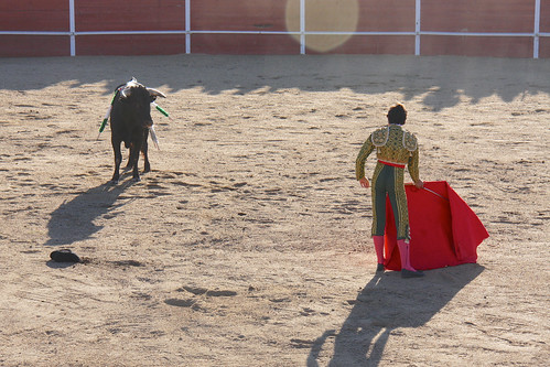 Bullfight - Zahínos 2012