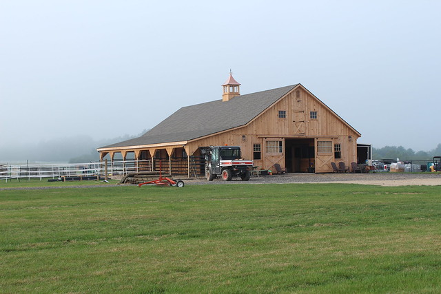 Large Horse Barn With Lean To Addition Flickr Photo