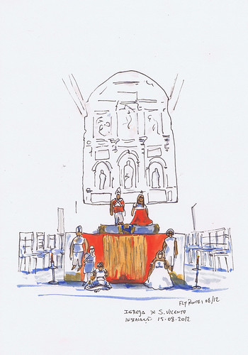 2012-08-15 Instalação na Igreja de S. Vicente