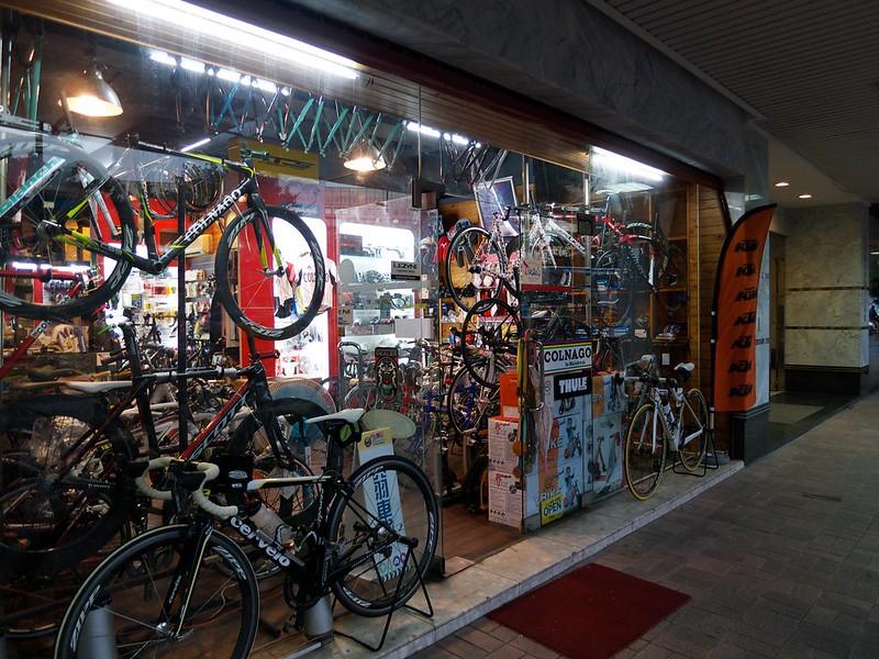 2012 台湾旅行 自転車店