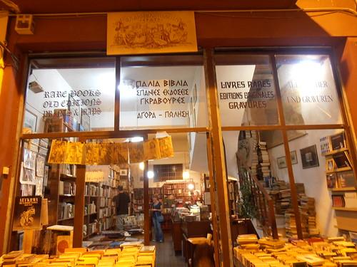 Athens: Old Bookstore in Monastiraki