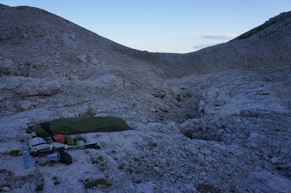 Bivy in the barrens
