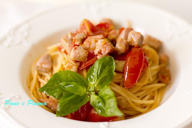Spaghetti con il tonno1