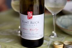 2007 Flat Rock Cellars Riesling