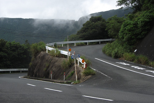 Right turn to Uchiyama pass