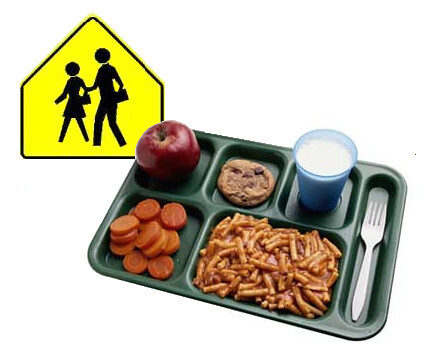 Caution: School Lunch