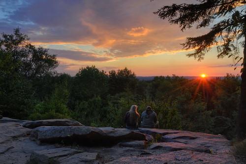 sunset ohio nikon hdr cuyahogavalleynationalpark virginiakendall cvnp photomatix nikond90 ledgesoverlook