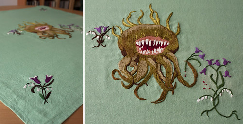 Geeky embroidery II