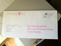 Premierenticket Deutsche Telekom (für das Apple iPhone 5?)