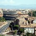 The Colosseum from the top of Il Vittoriano