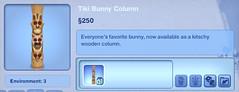 Tiki Bunny Column