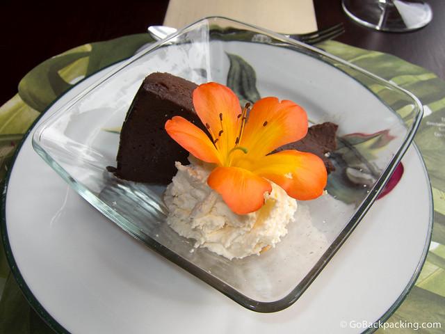 Torta Chocolate con Crema