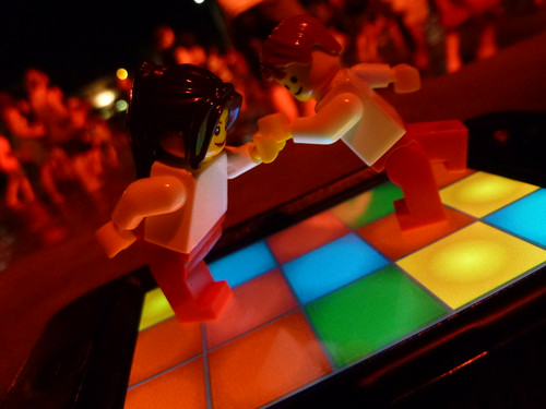 Legopractic disco in downtown Guelph by Dr. Mark Kubert
