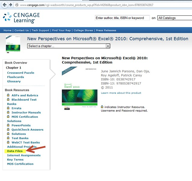 Data Files For New Perspectives On Microsoft 174 Excel 174 2010