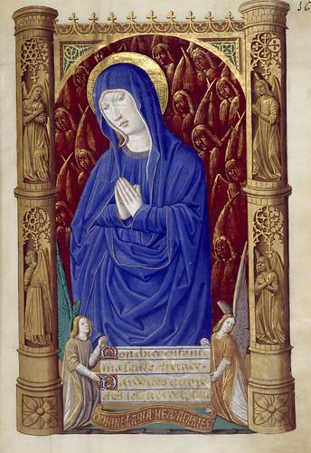 016-Libro de horas de Carlos VIII Rey de Francia -1401-1500-Copyright Biblioteca Nacional de España