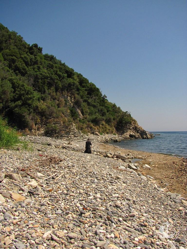 По пути из монастыря Дохиар назад в Пантелеимонов монастырь