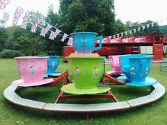 The teapot ride.
