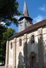Nouziers (église) façade Sud 1a - Photo of Moutier-Malcard