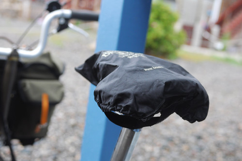 Brompton Rain Riding