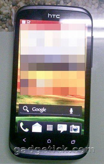 Фронтальная панель HTC Desire X